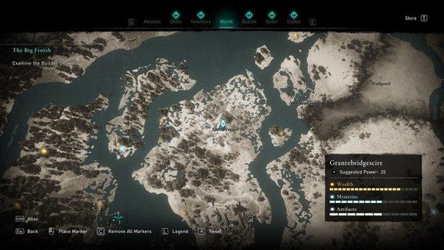 Assassins Creed Valhalla Goneril Location