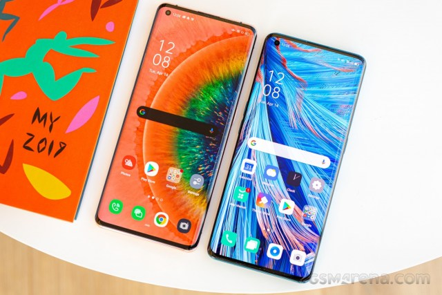 Oppo Find X2 Pro and Find X2