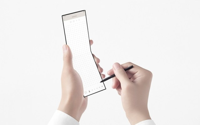 """Oppo introduces new """"slide"""" concept phone with three hinges"""