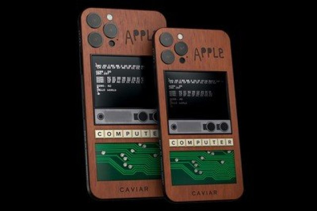 caviar apple iphone 12 pro max steve jobs and steve wozniak apple 1 edition 001