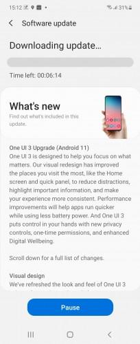 Galaxy Z Flip One UI 3 update changelog