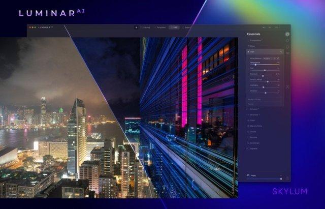 LuminarAI editing