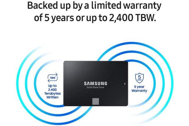 Samsung SSD SATA 3 hard drive under $50