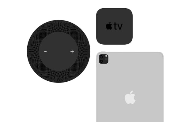 Apple TV, HomePod, and iPad animations