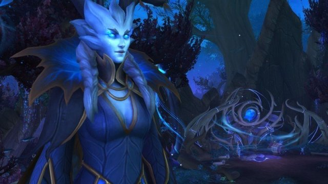 Warcraft Shaodwlands Winter Queen