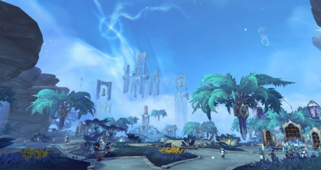 Worldo F Warcraft Bastion Scene