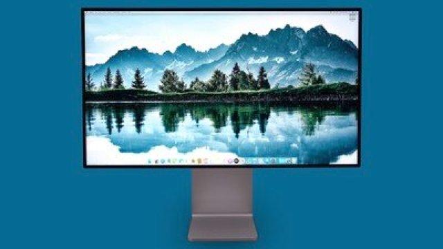 Pro Display XDR Blue