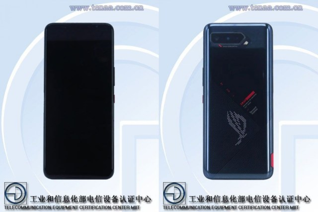 Asus ROG Phone 5 passes through TENAA revealing some specs and images