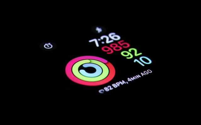 Apple Watch Exercise, Move, and Stand rings