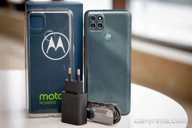 Motorola G9 Power in for review