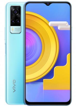 vivo Y31 (2021) in Ocean Blue color