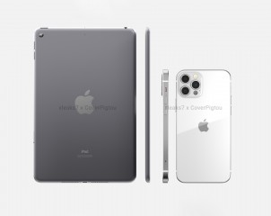 Size comparison - iPad mini 6 vs. iPhone 12 Pro