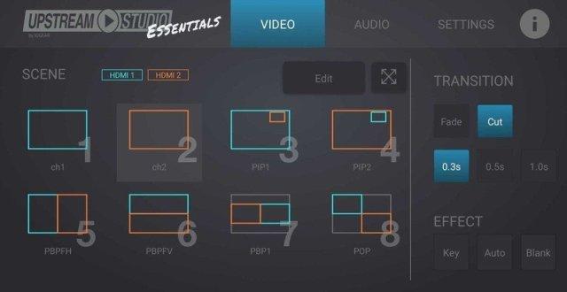 Upstream Essentials App