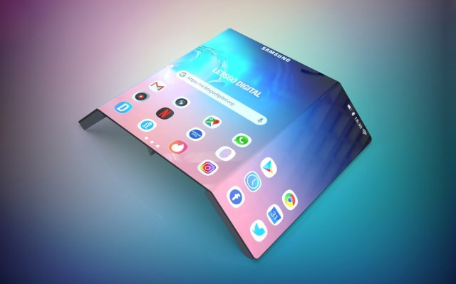 Samsung confirms that it's working on rollable smartphones