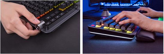 Clavier gaming ARGENT K5 RGB