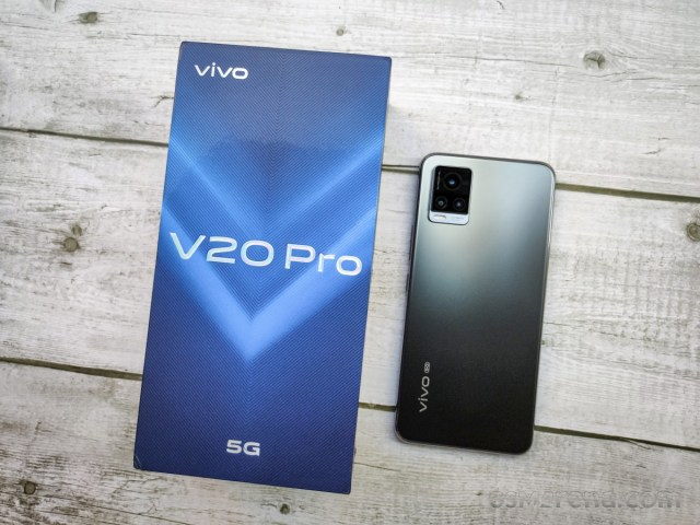 vivo V20 Pro 5G hands-on review