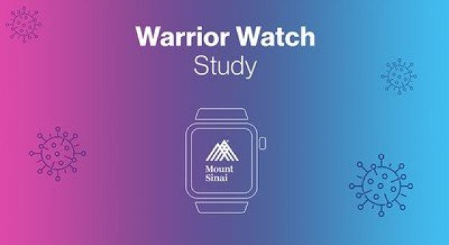 mount sinai covid apple watch study