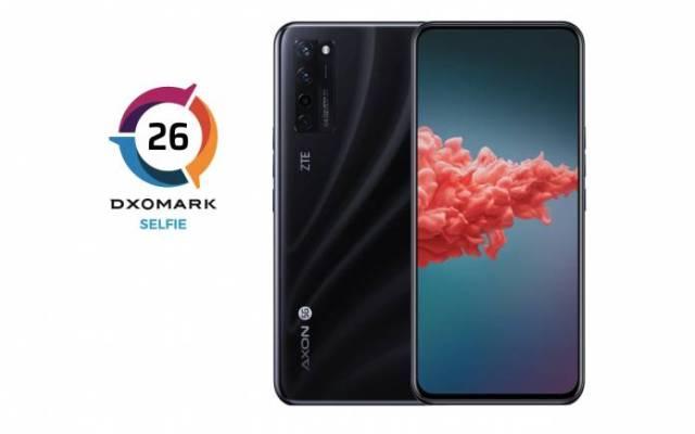 ZTE Axon 20 5G Selfie Camera DxOMark