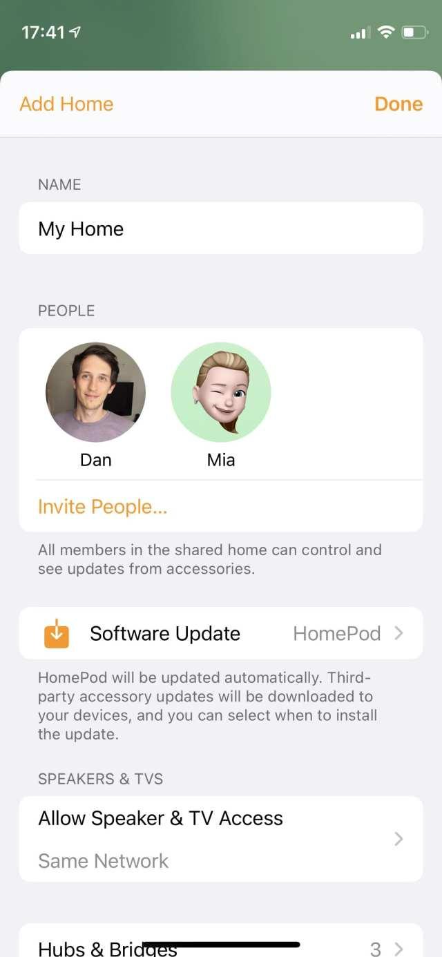 Add Home screen on iPhone