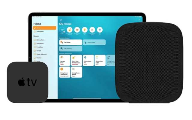 HomePod, Apple TV, and iPad as Apple HomeKit Home Hubs