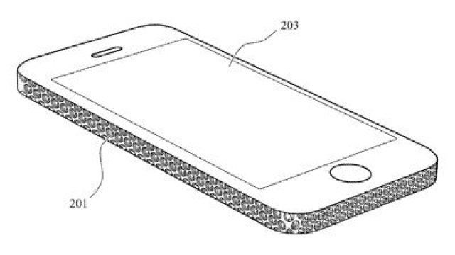 iphone lattice pattern patent frame