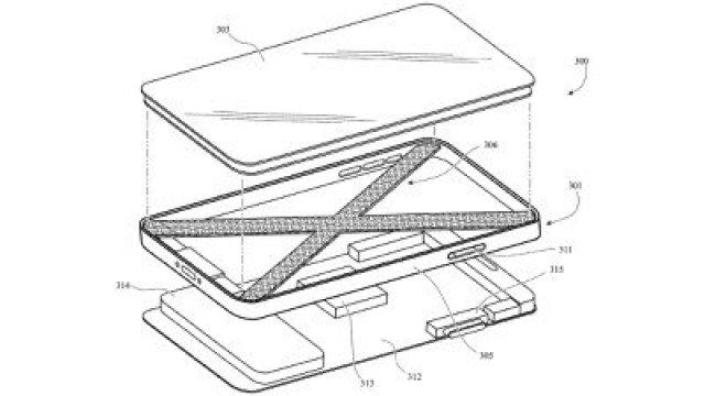 iphone lattice pattern patent structure