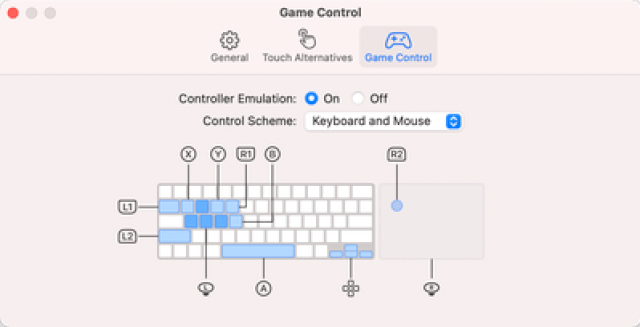 game control emulation
