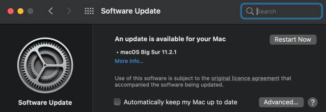 update macOS