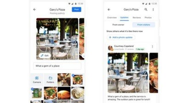 google photo updates