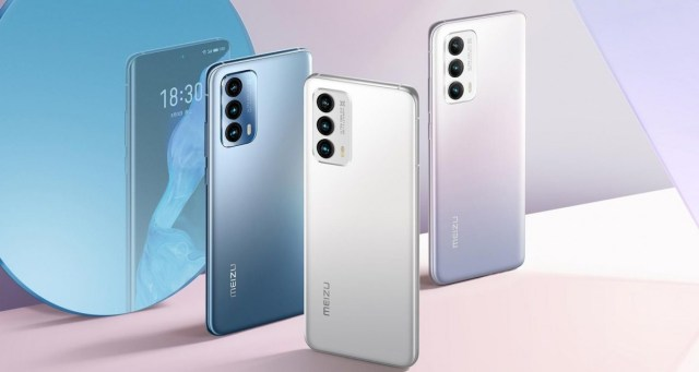 Meizu 18 and 18 Pro are official with Snapdragon 888, curved front glass