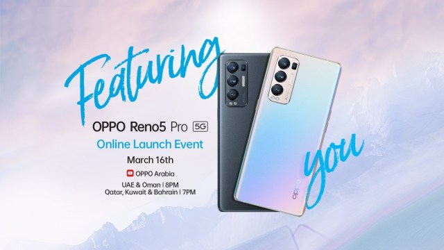 Oppo Reno5 Pro+ 5G arriving in the Middle East as Reno5 Pro 5G