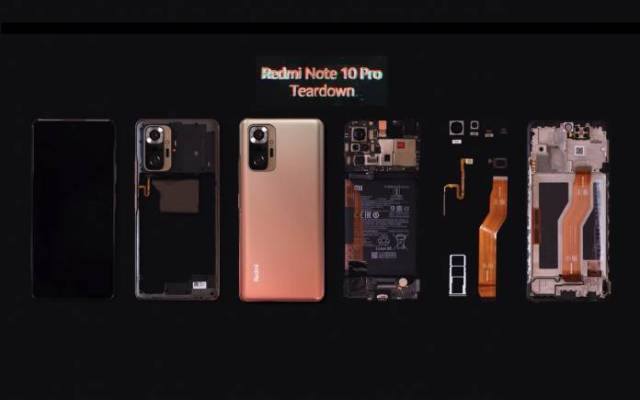 Redmi Note 10 Pro Teardown
