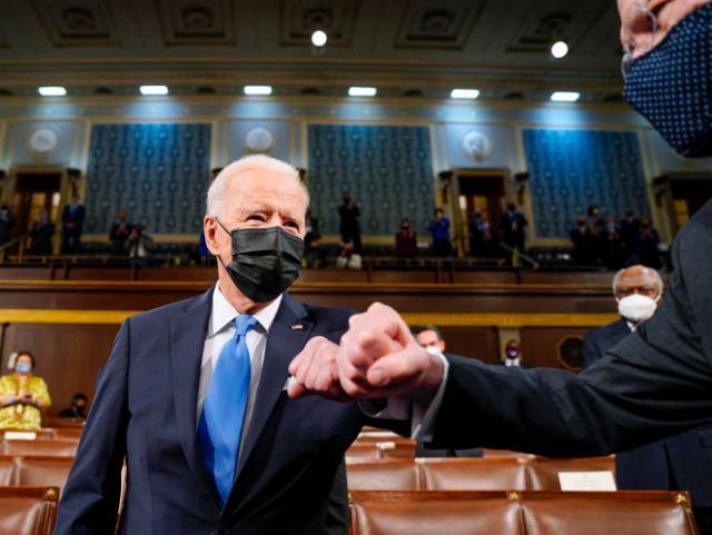 Le président des Etats-Unis, Joe Biden, à Washington, le 29 avril 2021.