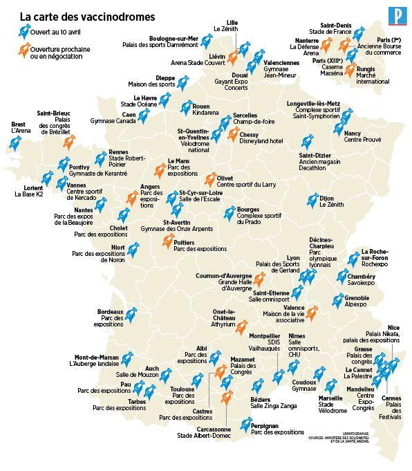 Covid-19 : les sites de vaccination et la prise de rendez-vous, mode d'emploi