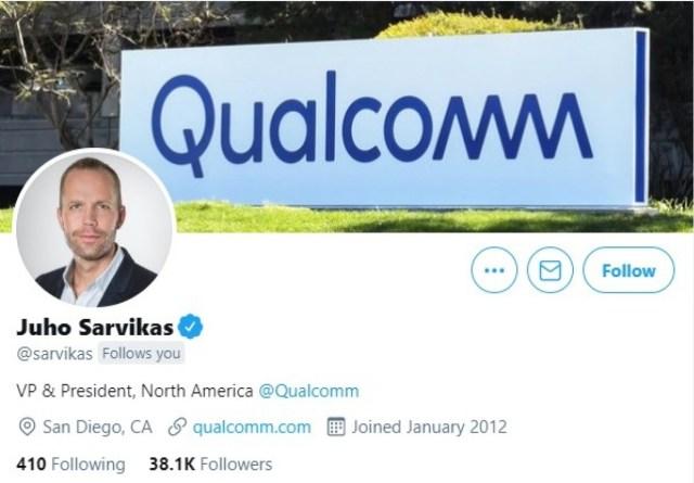 Sarvikas' new Twitter bio and cover photo