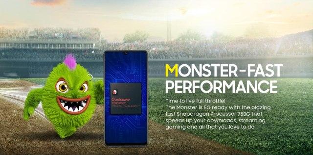 Samsung Galaxy M42 5G Snapdragon 750G Processor