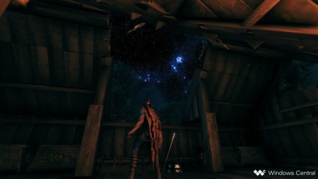Valheim Night Sky Stars