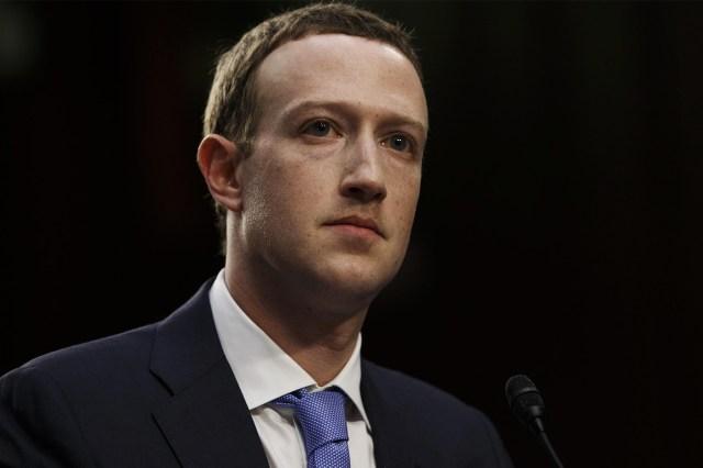 Mark Zuckerberg lobbying