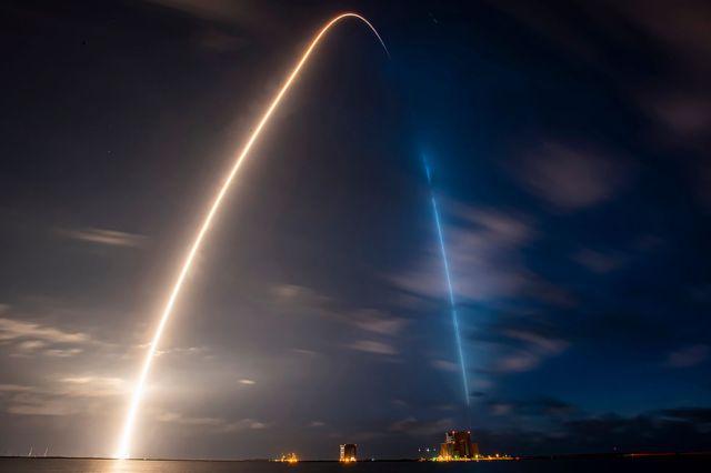 Falcon 9 Thomas Pesquet