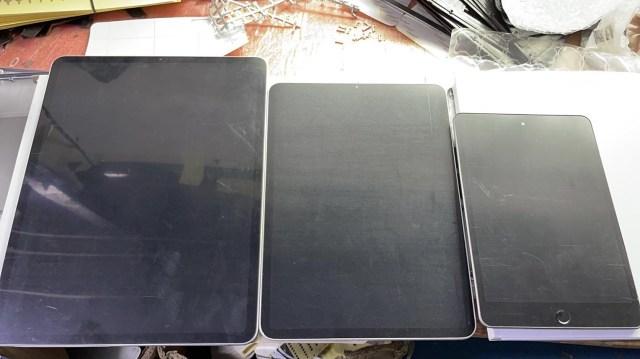 Maquettes iPad mini iPad Pro 2021