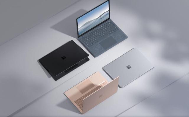 Microsoft lance le Surface Laptop 4 et de nouveaux casques, et une webcam