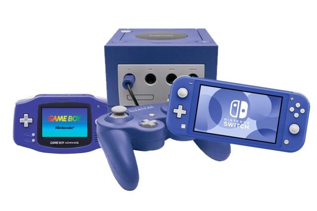 Modèle Bleu Switch