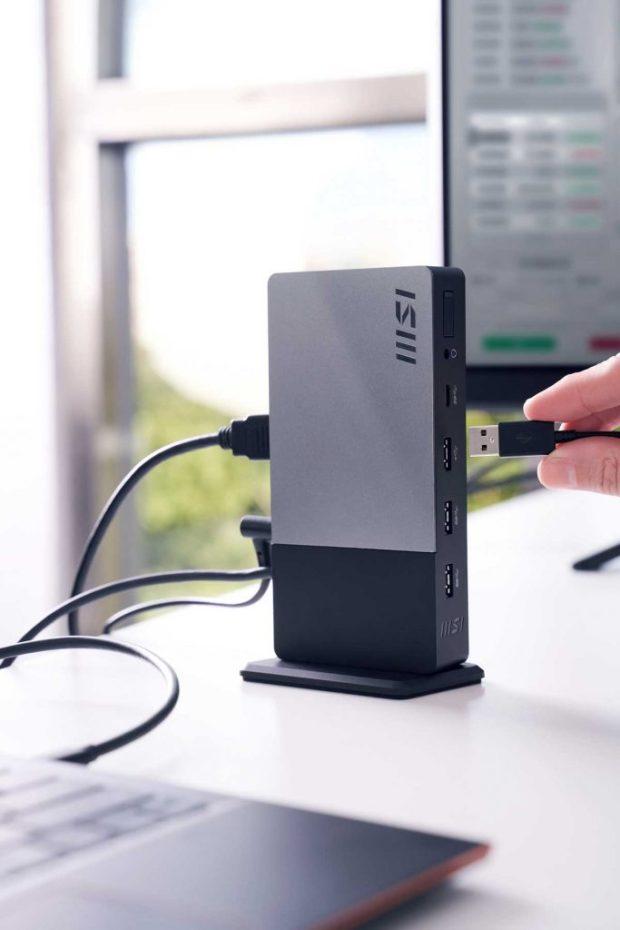 tation de travail MSI USB-C Docking Station Gen 2