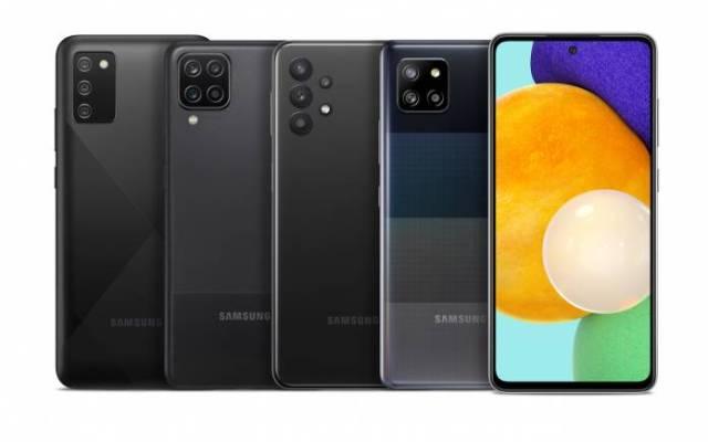 SAMSUNG Galaxy A02S A12 A32 A42 5G 5G A52 5G Lineup
