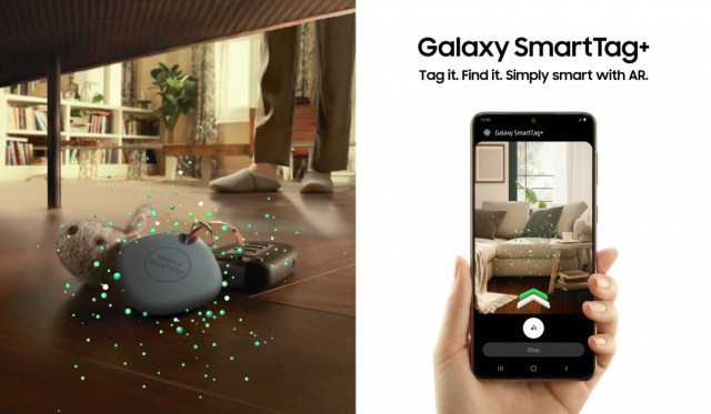 Samsung Galaxy SmartTag+ brings UWB support and AR visual guidance