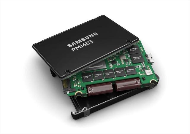 Samsung lance un SSD Enterprise SAS-4