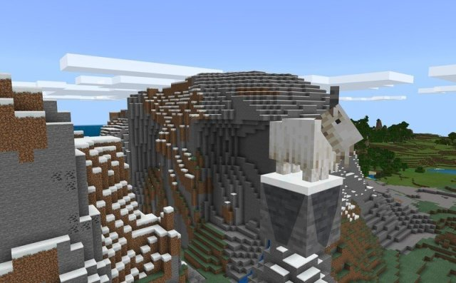 Minecraft Caves And Cliffs Update Goat