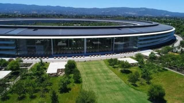 apple park drone june 2018 2