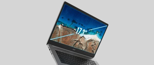 Chromebook: Acer dévoile le premier 17,3pouces