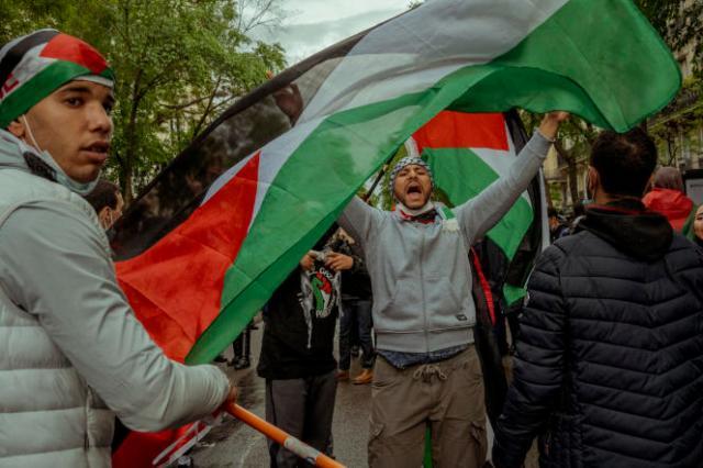 La manifestation pro-palestinienne à Paris du samedi 15 mai 2021 avait été interdite par arrêté préfectoral.